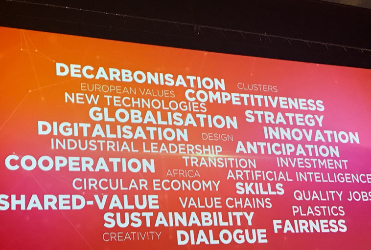 EU Industry Days Word Cloud 2019